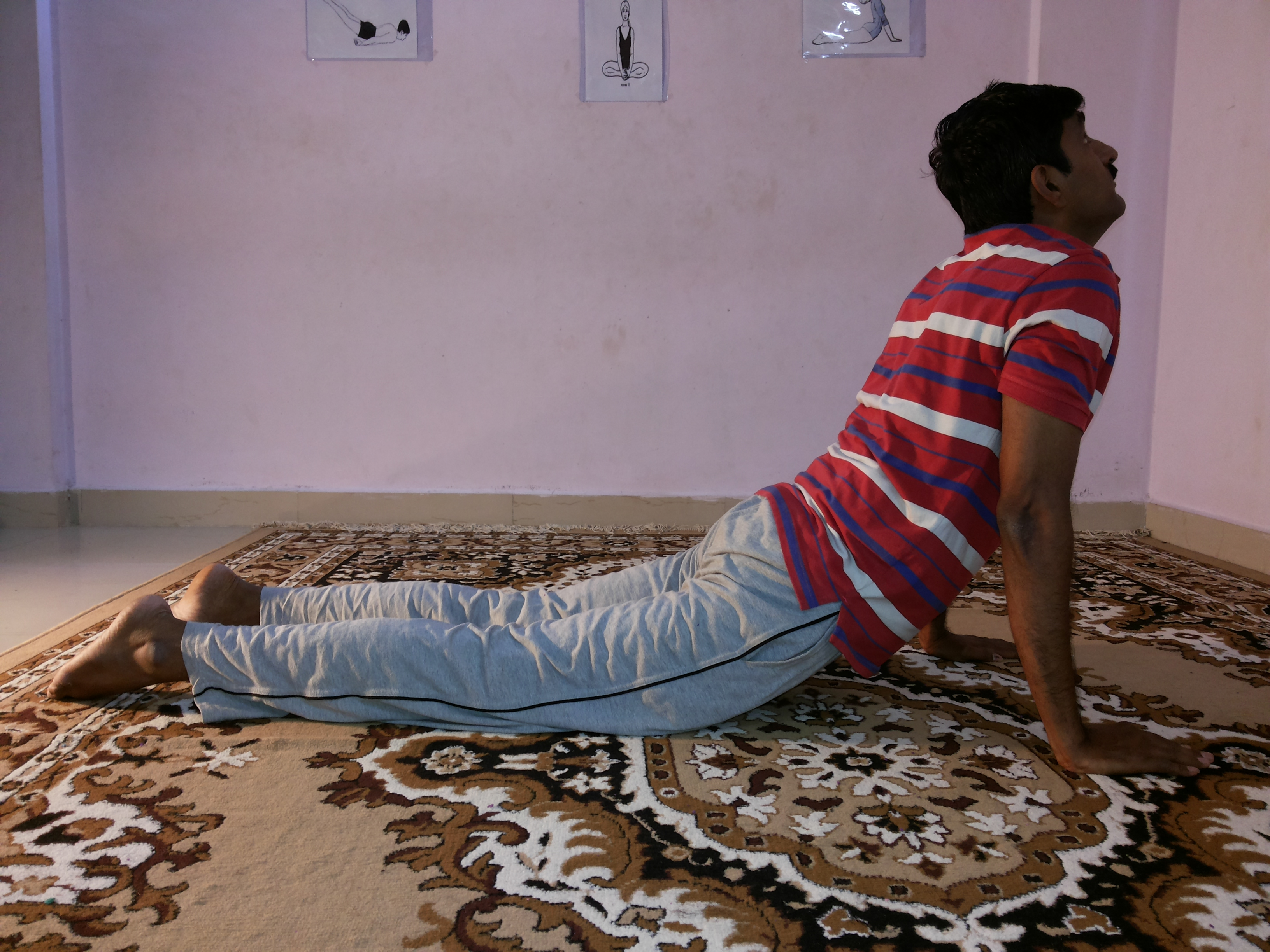 Purna Bhujangasana - Yoga for weight loss