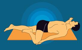 shava udarakarshanasana_universal spinal twist